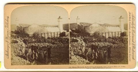 Masjid Machpelah iaitu tempat di mana Nabi Ibrahim, Ishak dan Yaakob ditempatkan.