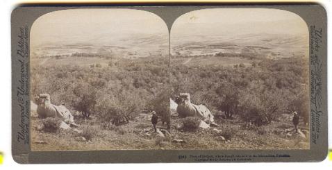 Dataran Dothan di mana dipercayai Nabi Yusuf dijual sebagai hamba.