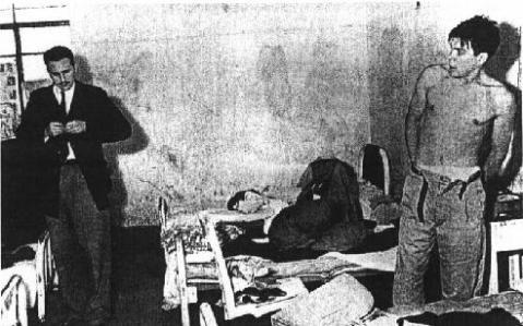 Guevera dan Fidel Castro. Salahs satu foto pertama yang memaparkan mereka berdua.